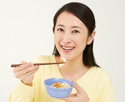 画像: ゴボウサラダやタマネギスライスと食べるとよい