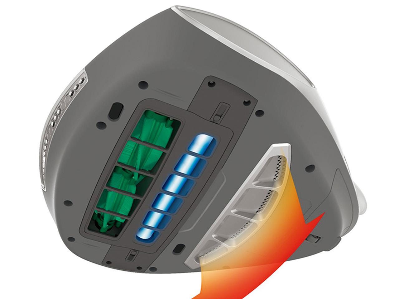 画像2: 【レイコップPRO】ダニ対策機能「ドライエアブロー」を搭載!60度の温風で内部のダニまで死滅