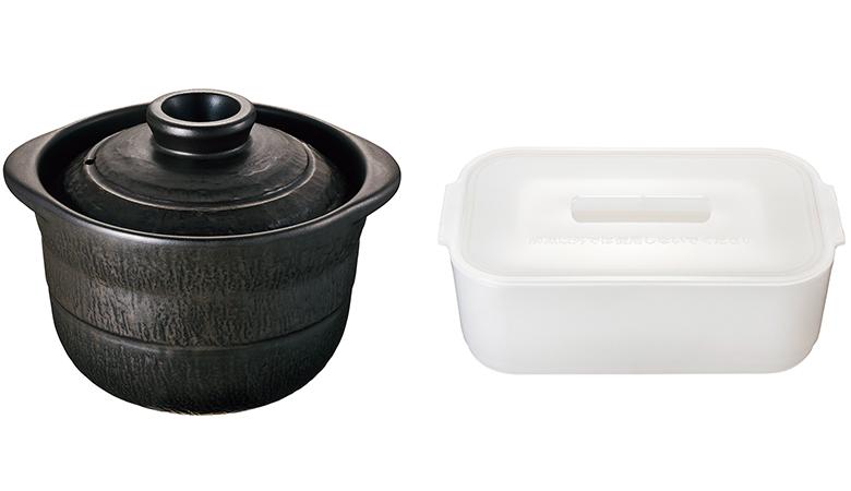 画像: ※付属の萬古焼の土鍋と解凍専用容器
