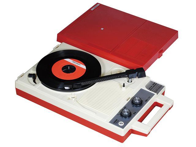 画像: アナログレコード最盛期に一世を風靡したポータブルプレーヤーの復刻モデルが登場