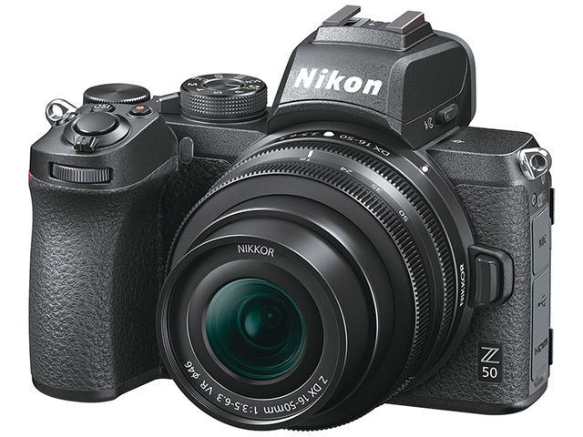 画像: 上位モデルのZ7/Z6に似たデザインの金属ボディに、APS-Cサイズの撮像センサーを搭載。209点測距のハイブリッドAFなどを備える。