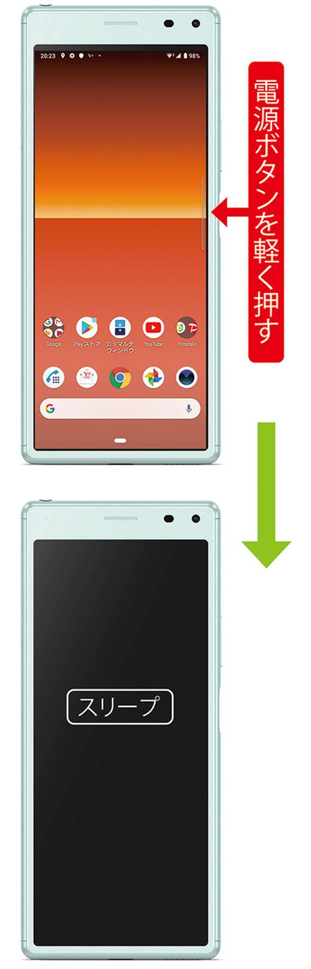 画像3: 疑問と悩み 基本操作編 Androidスマホの電源のオン/オフの仕方がわからない