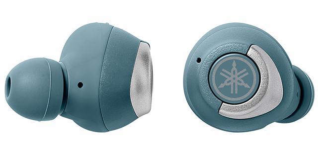 画像: TW-E5A (予想実売価格:1万5000円) E7Aからノイズキャンセリングなどの機能を省略した ミドルレンジモデル 。外の音をマイクで拾いながら音楽を楽しめる「 アンビエントサウンド 」を搭載。 2020年2月発売で、カラーバリエーションは4色(写真はスモーキーブルー)。