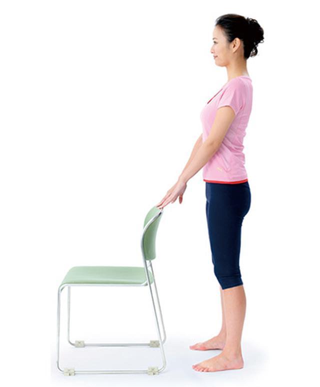 画像8: 1日5分!筋肉と骨を鍛えて若返る 「スクワット」と「かかと落とし」のやり方
