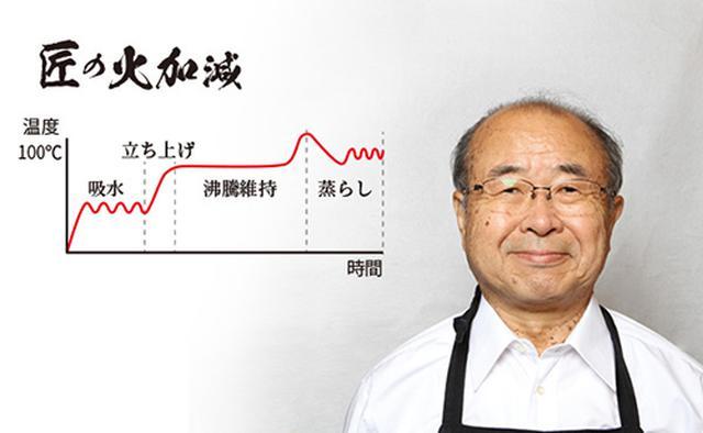 """画像: 「炊飯器の神様」下澤理如氏プロデュース""""匠の火加減"""""""