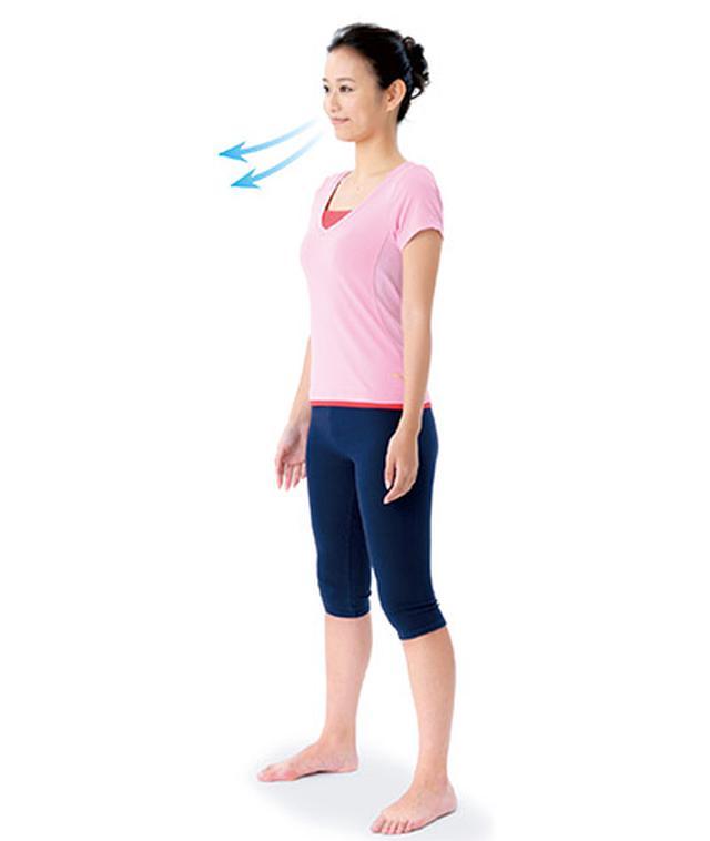 画像4: 1日5分!筋肉と骨を鍛えて若返る 「スクワット」と「かかと落とし」のやり方