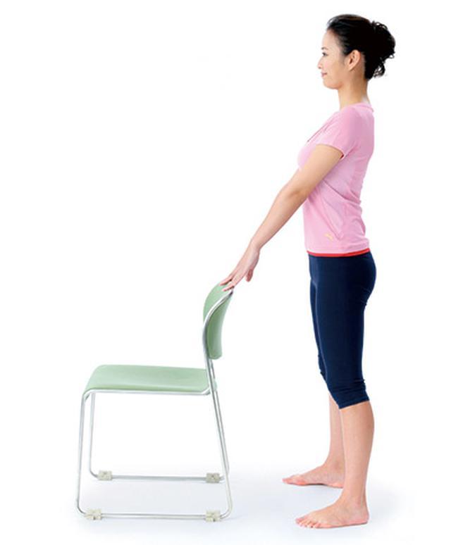 画像5: 1日5分!筋肉と骨を鍛えて若返る 「スクワット」と「かかと落とし」のやり方