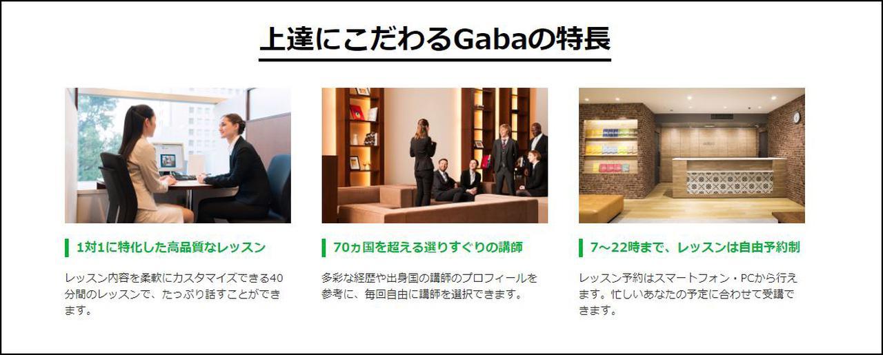 画像: www.gaba.co.jp