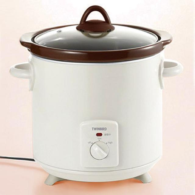 画像: 「スロークッカー」を使うと、火を使わずに電気で調理ができる