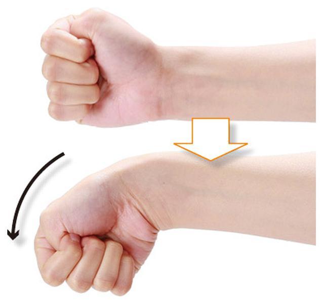 画像1: 「ひじ」「手首」どちらの腱鞘炎なのかを確認する方法