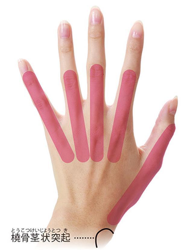 画像: 指ほぐしのやり方