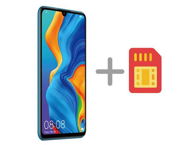 画像: ミドルレンジのスマホ 月額料金が割安なMVNOのSIMカードと、本体価格の安いモデルの組み合わせを「格安スマホ」と呼ぶことが多い。端末代はハイエンドを選ぶと、高くなるケースも。 (写真:ファーウエイ・P30 lite)