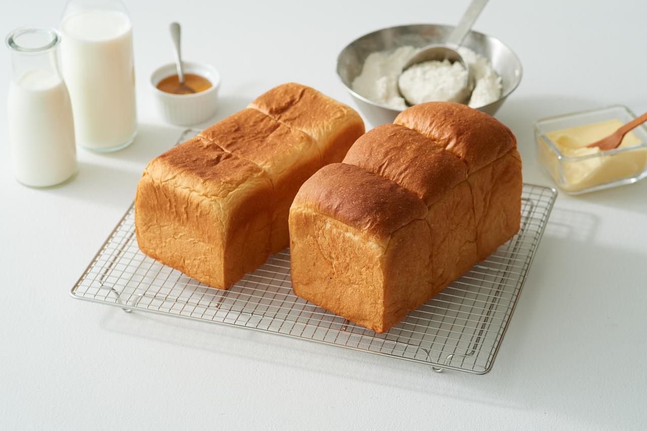 画像: 「牛乳食パン専門店 みるく」のラインナップ