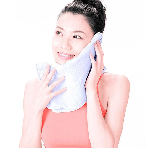画像3: ガーゼ洗顔のやり方
