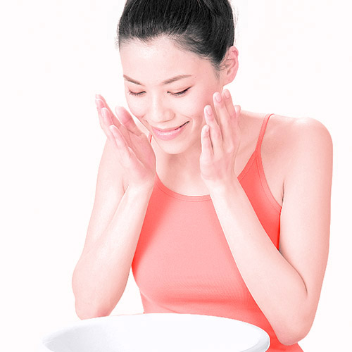 画像2: ガーゼ洗顔のやり方