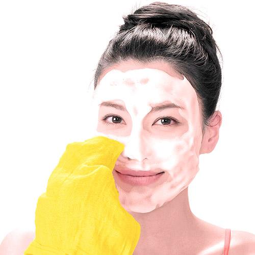 画像7: ガーゼ洗顔のやり方