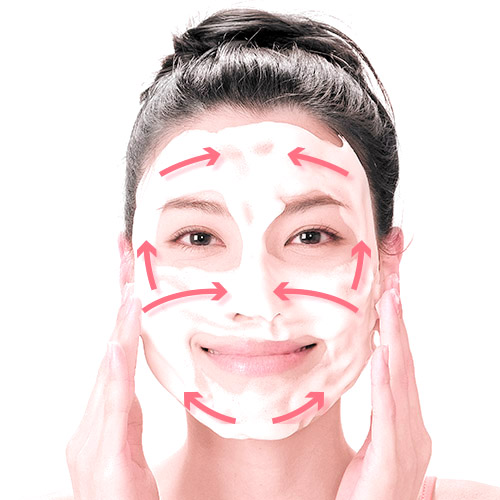 画像6: ガーゼ洗顔のやり方