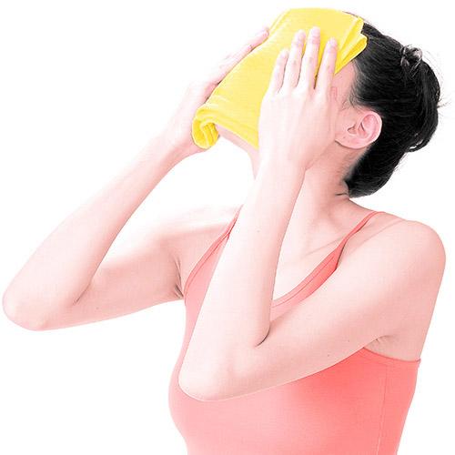 画像5: ガーゼ洗顔のやり方