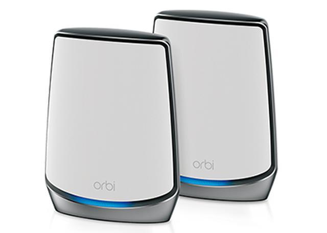 画像: Orbi WiFi 6 トライバンドメッシュWiFiシステム スターターキット 2台セット