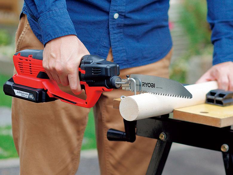 画像1: RYOBIの充電式のこぎり「BSK-1800L1」DIY木工や樹木のせんていなどに最適