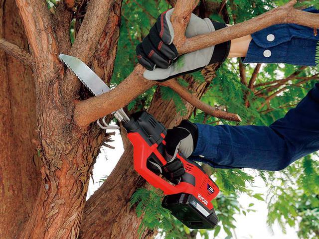 画像2: RYOBIの充電式のこぎり「BSK-1800L1」DIY木工や樹木のせんていなどに最適