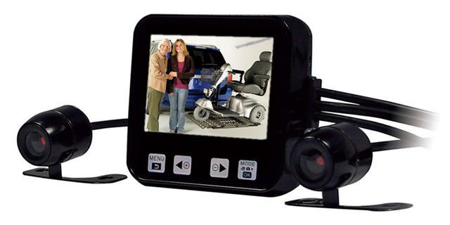 画像: トライクスジェイピー 車いす用ドライブレコーダー