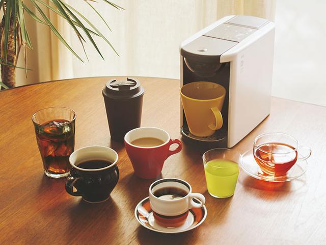 画像2: UCCのカプセル式コーヒーメーカー「ドリップポッドDP3」2つの抽出モードが追加