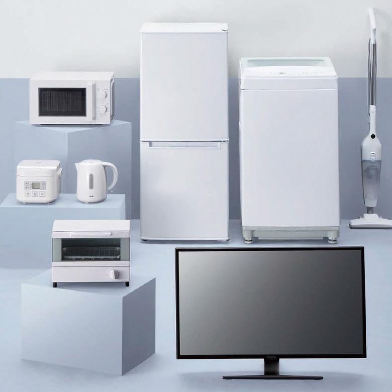 画像: 新生活のための家電が9万円以内でそろうニトリのシンプル家電シリーズ