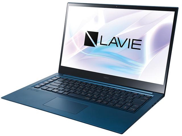 画像: プレミアムノートの新シリーズ。上位モデルには同社初の 4K有機ELディスプレイを採用 し、Core i7-9750Hプロセッサー、Wi-Fi 6(11ax)を搭載するなど、LAVIE史上最高性能をうたう。最上位のLV950/Rは、天板がミラーガラスで覆われ、さらなる高級感を実現している。
