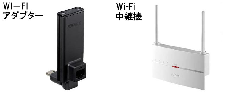 画像2: ● Wi-Fi機器には多彩な種類がある