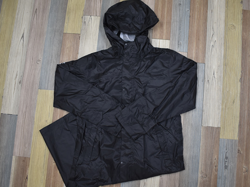 画像3: 「W7610 BAG in 透湿レインコート」の特徴