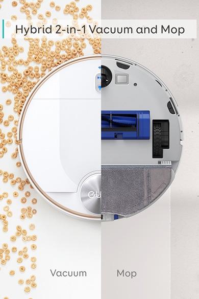 画像: 通常の吸引モード以外に水量をコントロールし、水拭きが可能なモッピングモードも搭載している。生活環境や目的に合わせてモードを使い分けることで、床をきれいにする。