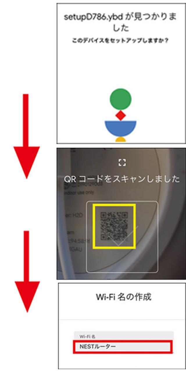 画像7: メッシュ対応ルーターを接続 ルーターのセットを設置して、家中にWi―Fiが届くようにする