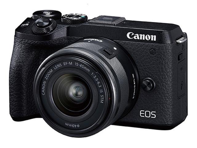 画像: 人気のEOSシリーズミラーレス一眼 。Wi-Fiを使えば、撮影と並行してスマホへの画像転送が可能。パソコンやクラウドへの転送にも対応する。