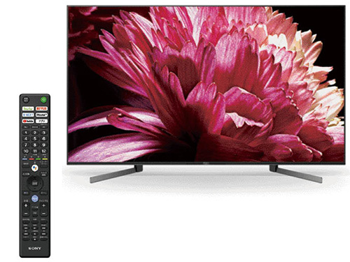 画像: 65V型液晶を搭載した4Kテレビ。Android TVを搭載し、「YouTube」「Netflix」などの動画配信サービスに対応。Googleアシスタントなども利用可能。