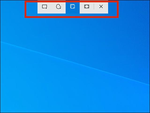 画像: 「切り取り&スケッチ」をショートカット起動すると、画面上部にツールバーが表示される。ウィンドウを撮りたい場合は、ここから「ウィンドウの領域切り取り」を実行すればOK。ほかにも全画面や指定範囲のトリミング撮影も可能だ。