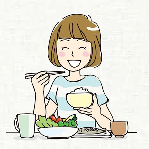 画像: 塩分の高い食品を避け、1日あたり小鉢5皿分の野菜と、果物1皿分の摂取を。