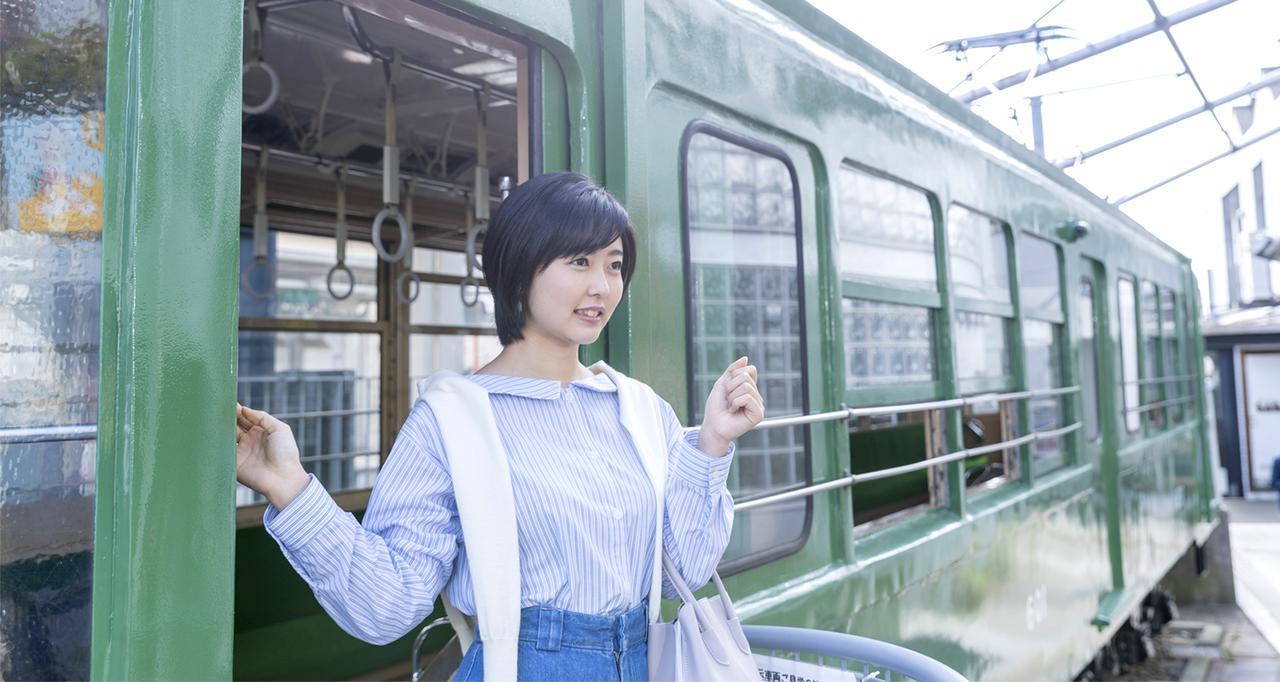 画像: 旧玉電車両|宮の坂・お出かけ|東急世田谷線 50周年 特設サイト