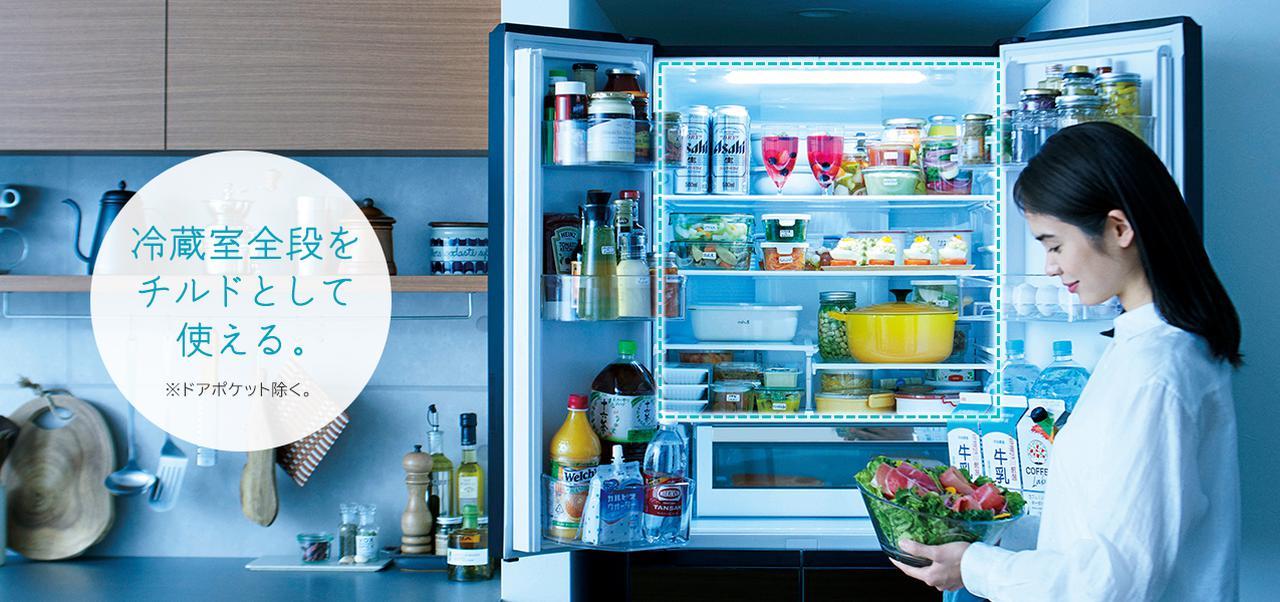 画像: 大容量冷蔵庫HXタイプ・HWタイプ 新商品ニュース : 冷蔵庫 : 日立の家電品