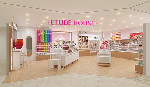 画像: 新宿ミロードにエチュードハウスの新店舗がオープン!