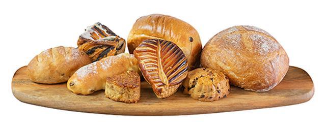 画像: パンが届くまで