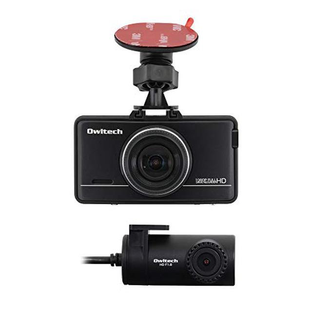 画像: 【オウルテック】F1.8レンズを採用した2カメラドライブレコーダー「OWL-DR802G-2C」