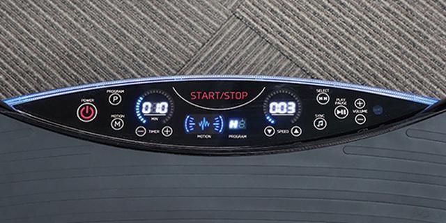 画像: 七つのプログラムモードと30段階のマニュアルモードを搭載。操作部は光るタッチパネル式で、視認性が◎。