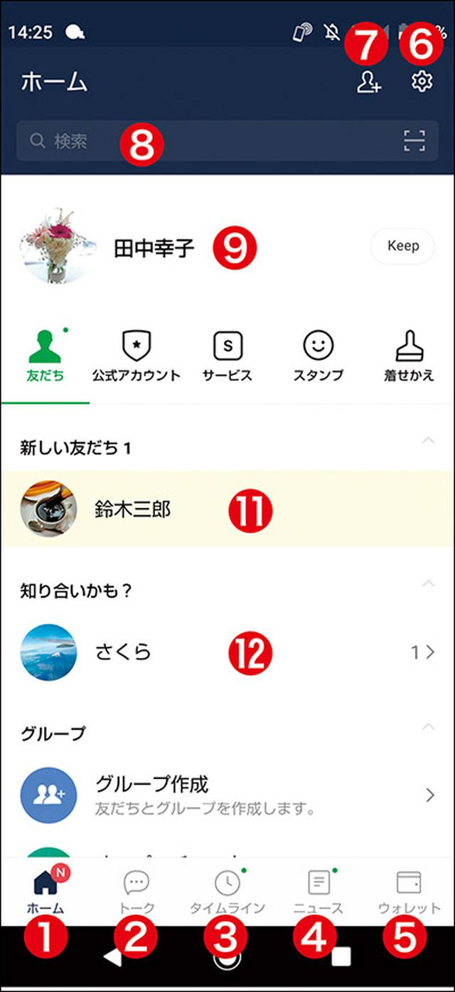 画像8: 【LINEとは①】初心者向けに解説!何ができるサービス?ケータイでも使える?