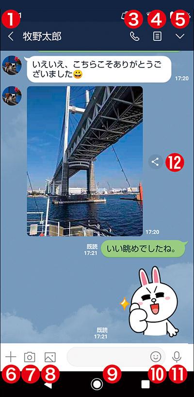 画像10: 【LINEとは①】初心者向けに解説!何ができるサービス?ケータイでも使える?