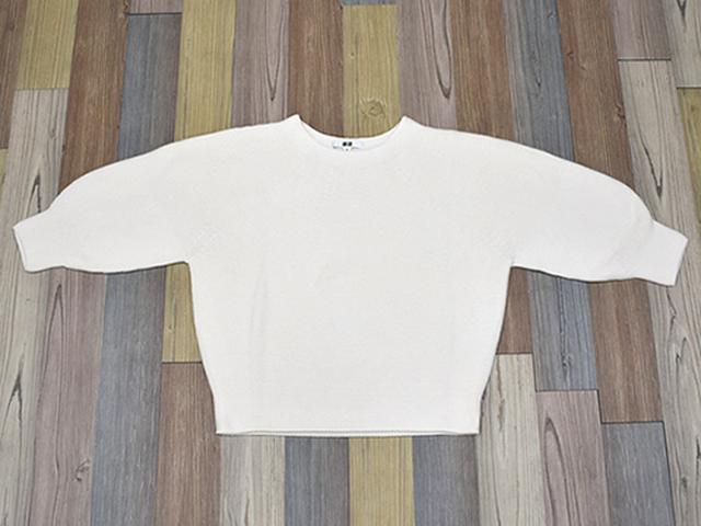 画像: セーターは着た時のサイズ感に注目!