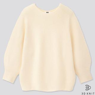 画像: 【ユニクロ調査隊②】春ニット「3Dコットンバルーンスリーブセーター」が着心地良すぎ!