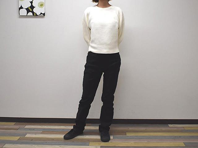 画像: 春や秋にヘビロテしたい「3Dコットンバルーンスリーブセーター(7分袖)」