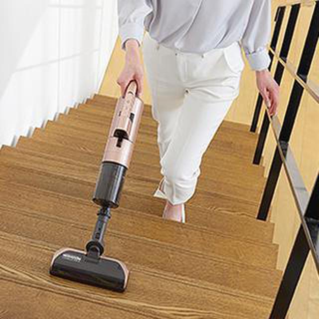 画像3: 【掃除機の置き場所は?】リビングに出しっぱなしでOK!三菱「ZUBAQ(ズバキュー)」がおすすめな理由
