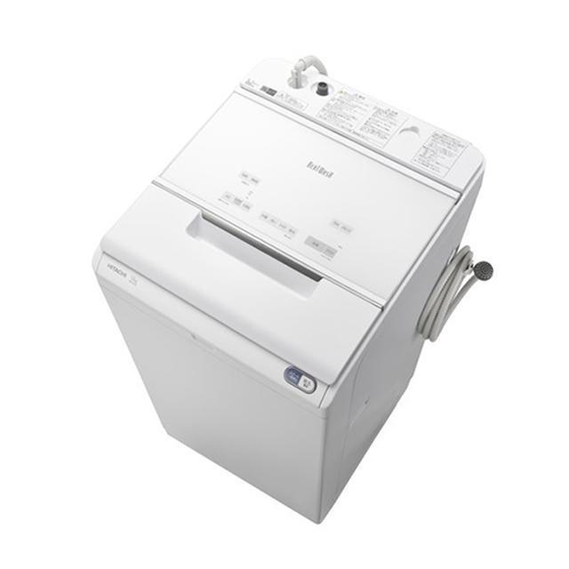 画像: 日立「ビートウォッシュ BW-X120E W」(タテ型全自動洗濯機 12kg) www.yodobashi.com